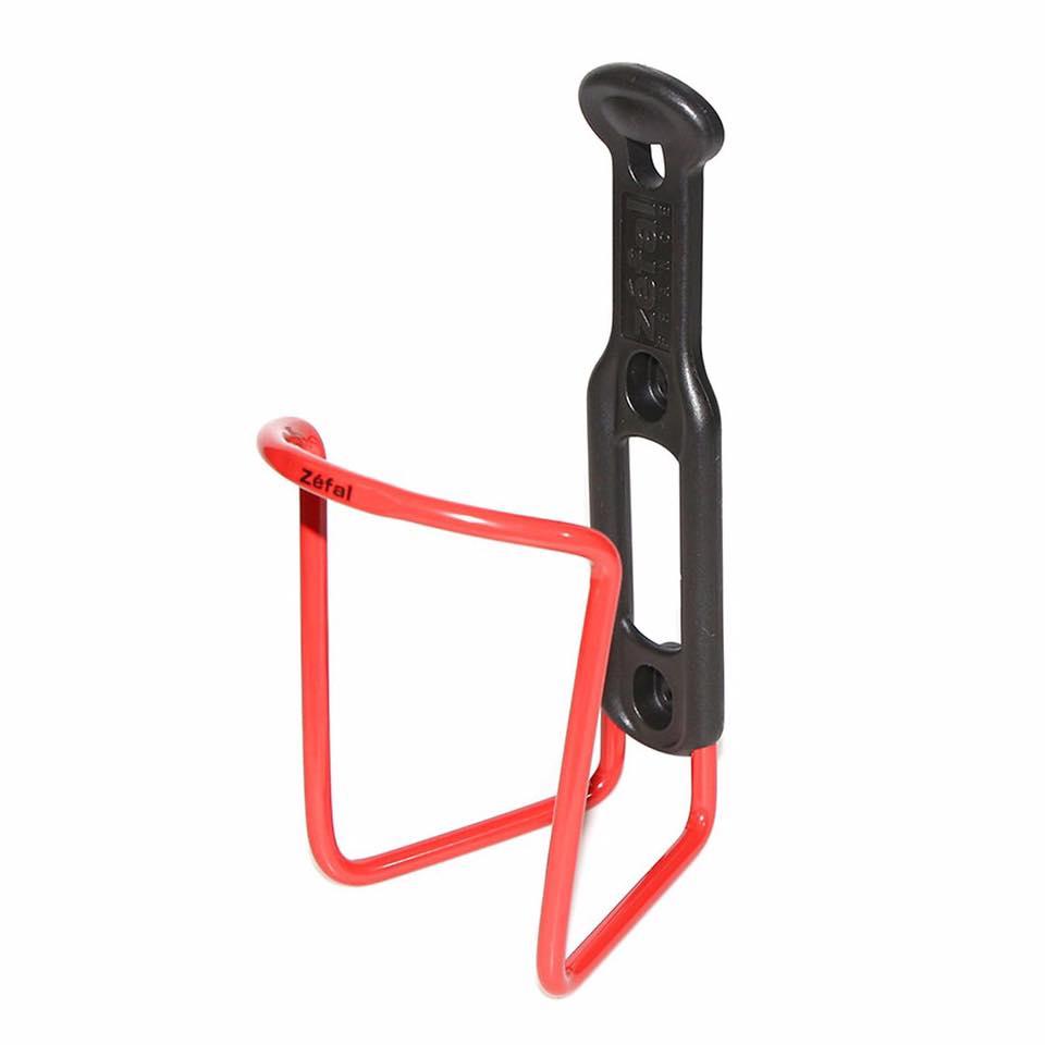 Gọng Bình Xe Đạp Zefal Alu Plast 124 Màu Đỏ