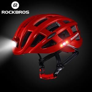 Nón Bảo Hiểm Thể Thao Rockbros Light Màu Đỏ