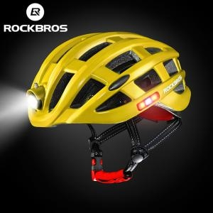 Nón Bảo Hiểm Thể Thao Rockbros Light Màu Vàng