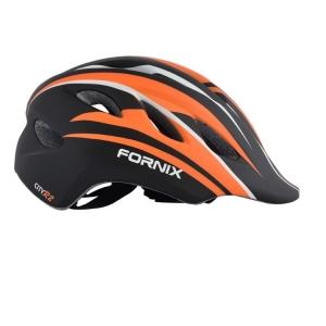 Nón Bảo Hiểm Trẻ Em Fornix A02Nm28 Màu Cam Đen