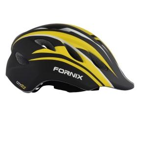 Nón Bảo Hiểm Trẻ Em Fornix A02Nm28 Màu Vàng Đen