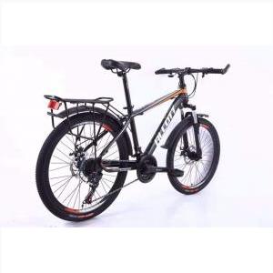 Xe Đạp Địa Hình Alcott Mt06 Màu Trắng Cam Đen