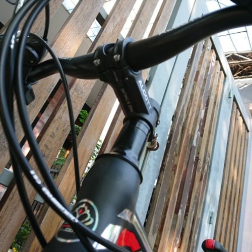Xe Đạp Địa Hình Alcott Mt02 Màu Trắng Đỏ Đen