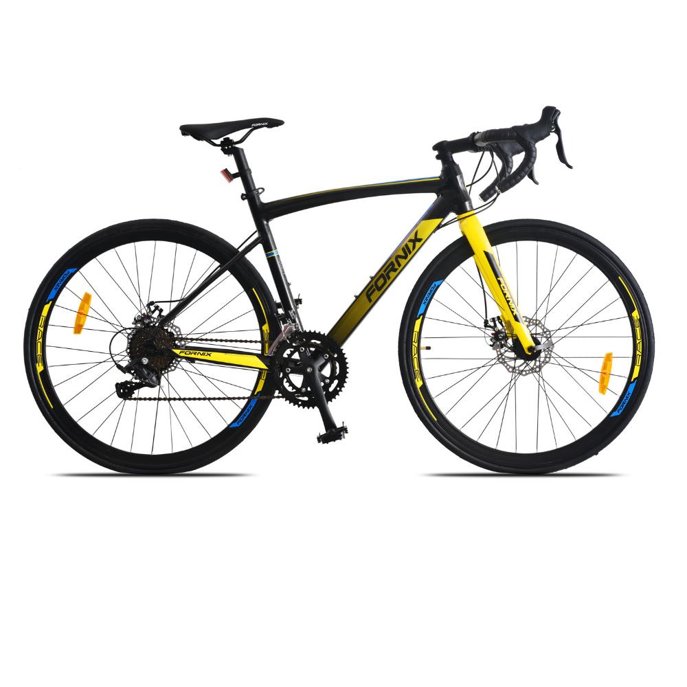 Xe Đạp Đua Fornix R300 Màu Vàng Đen