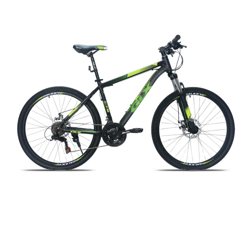 Xe đạp địa hình GLX CT9 màu cốm đen