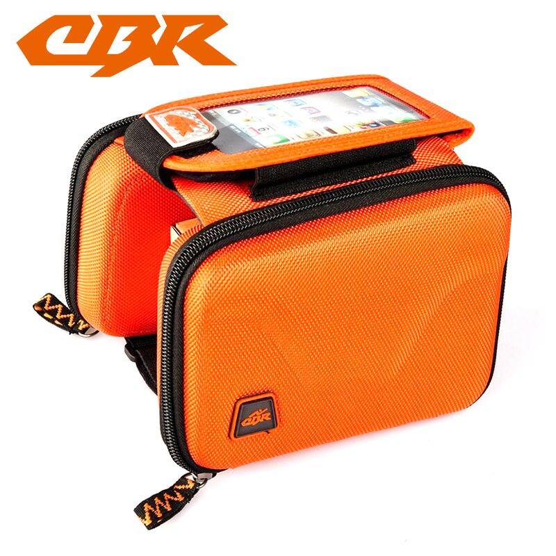 Túi xe đạp CBR đôi bắt sườn màu cam