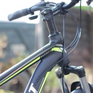 Xe Đạp Địa Hình Alcott Mt02 Màu Trắng Vàng Đen