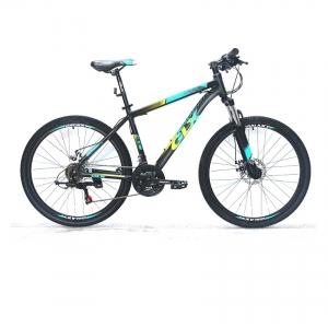Xe đạp địa hình GLX CT9 màu vàng xanh dương đen