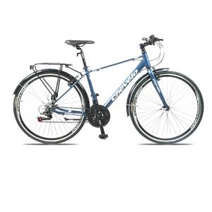 Xe đạp Touring Chevelo Elffel màu Trắng xanh dương