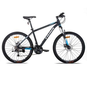 Xe đạp địa hình TrinX M116   2021 màu trắng xanh dương đen