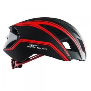 Mũ bảo hiểm thể thao JC - 12 màu đỏ đen