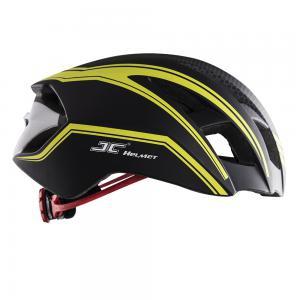 Mũ bảo hiểm thể thao JC - 12 màu vàng đen