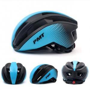 Mũ bảo hiểm thể thao PMT Pudi màu xanh dương đen