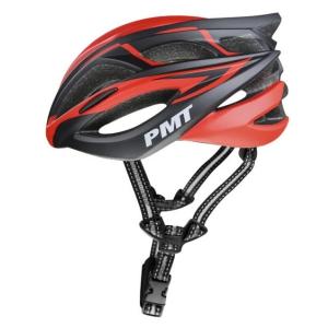 Mũ bảo hiểm thể thao PMT M-12 màu đỏ đen