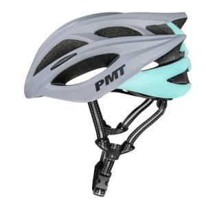 Mũ bảo hiểm thể thao PMT M-12 màu xám xanh dương